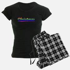 Christmas, Rainbow, Pajamas