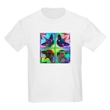 Mirrored cat image 3 T-Shirt
