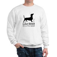 Dachshund Low Rider 2-sided Sweatshirt