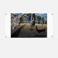 Dali's Llama Banner