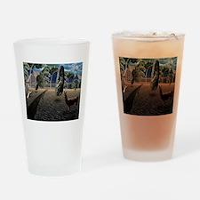 Dali's Llama Drinking Glass