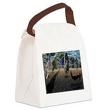 Dali's Llama Canvas Lunch Bag