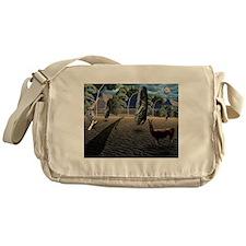 Dali's Llama Messenger Bag