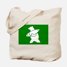 Wojtek the Soldier Bear Tote Bag