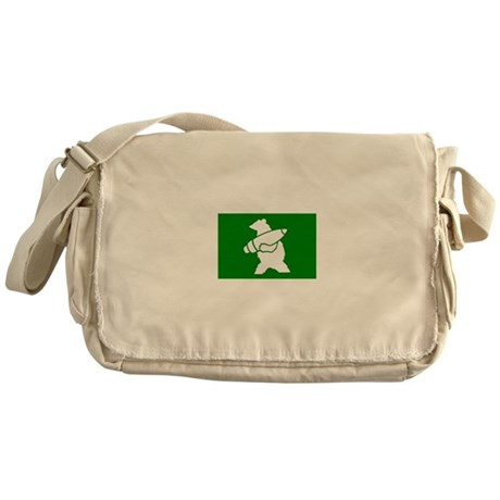 Wojtek the Soldier Bear Messenger Bag