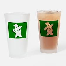 Wojtek the Soldier Bear Drinking Glass
