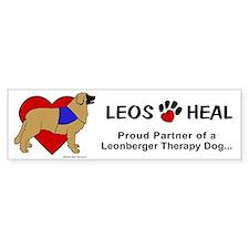 Therapy Leonberger Bumper Bumper Sticker