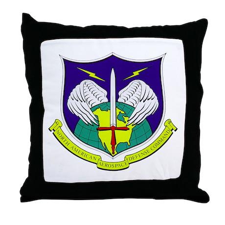 NORAD Throw Pillow