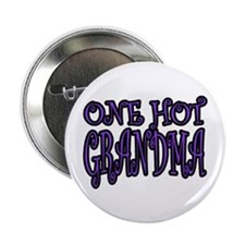 One Hot Grandma Button