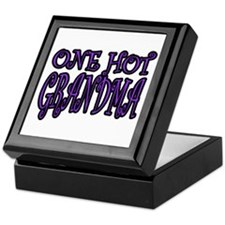 One Hot Grandma Keepsake Box