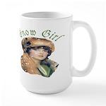 Snow Girl Large Mug