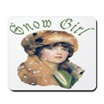 Snow Girl Mousepad