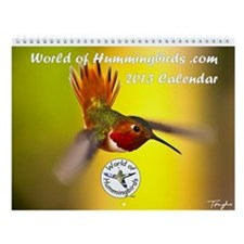 World of Hummingbirds .com 2013 Calendar