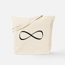 Infinity Sign Tote Bag