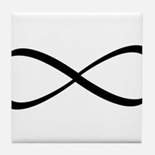 Infinity Sign Tile Coaster