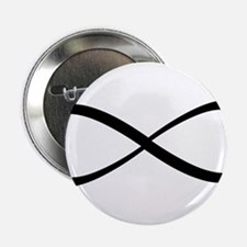 """Infinity Sign 2.25"""" Button"""