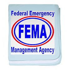 FEMA baby blanket