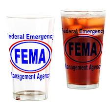 FEMA Drinking Glass
