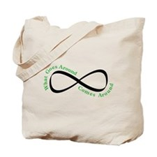 What Goes Around Tote Bag