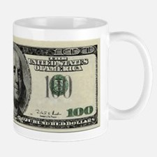 100 Dollar Bill Mug