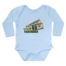 Benjamins Long Sleeve Infant Bodysuit
