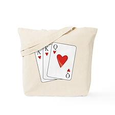 Straight Flush Tote Bag