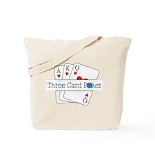 3 Card Poker Tote Bag