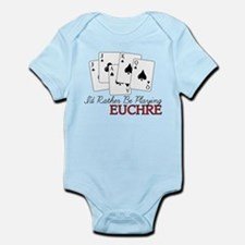 Euchre Playing Infant Bodysuit