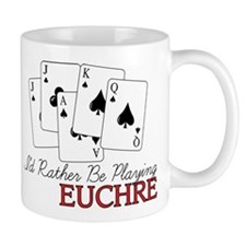 Euchre Playing Mug