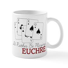 Euchre Playing Small Mug