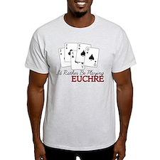 Euchre Playing T-Shirt