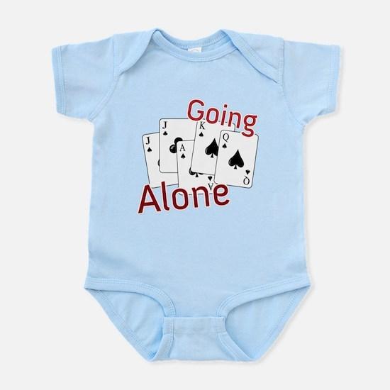 Going Alone Infant Bodysuit