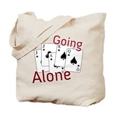 Going Alone Tote Bag