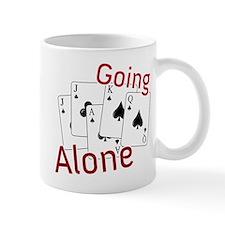 Going Alone Small Mug