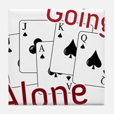 Going Alone Tile Coaster