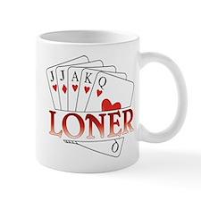 Euchre Loner Small Mug