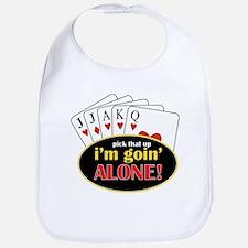 Im Going Alone Bib