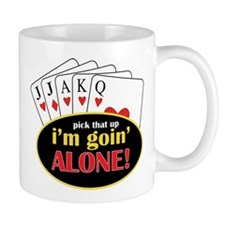 Im Going Alone Small Mug