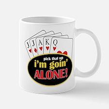 Im Going Alone Small Small Mug