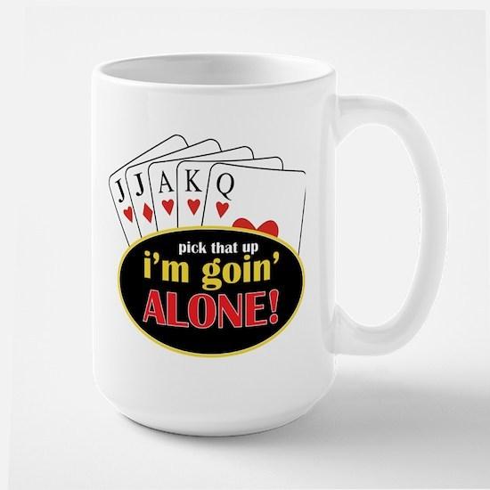 Im Going Alone Large Mug