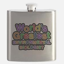 Worlds Greatest ENVIRONMENTAL BIOLOGIST Flask