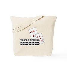 Getting Skunked Tote Bag