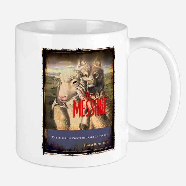 The Message Bible Warning Mug