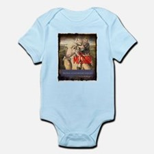 The Message Bible Warning Infant Bodysuit