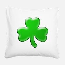 Shamrock ver4 Square Canvas Pillow