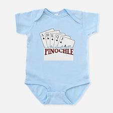 Pinochle Cards Infant Bodysuit