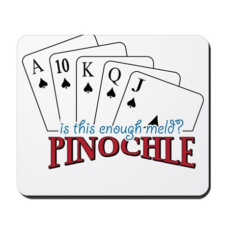 Pinochle Cards Mousepad