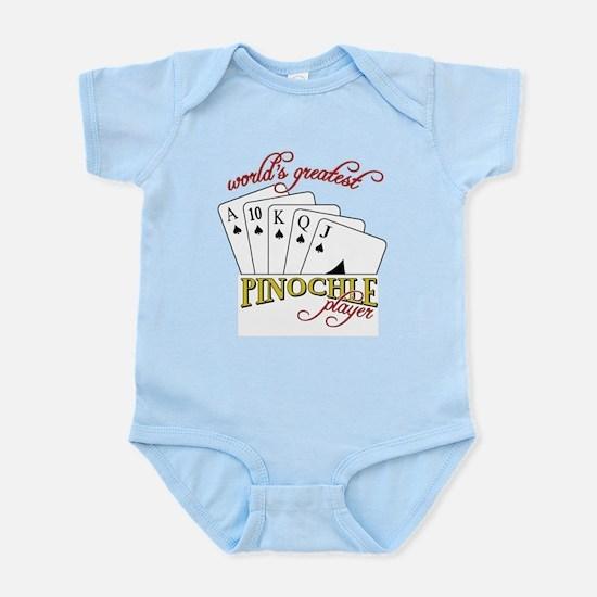 Pinochle Player Infant Bodysuit