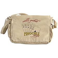 Pinochle Player Messenger Bag