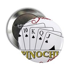"""Pinochle Player 2.25"""" Button"""
